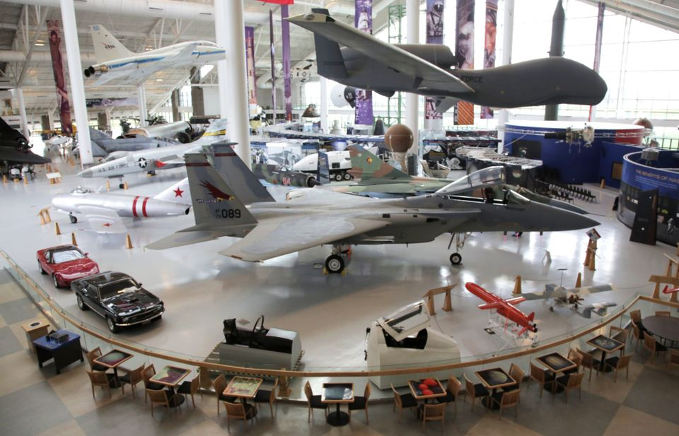 Inside the Evergreen Space Museum, part of the Evergreen Aviation and Space Museum campus that will expand under new part-owners Falls Event Center LLC, which bought the space museum, Wings and Waves water park and land on the McMinnville property. (Jamie Hale/The Oregonian)