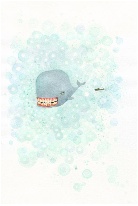 The Whale and His Friend the Submarine Take a Journey #1
