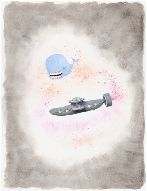 The Whale Dreams of His Friend the Submarine
