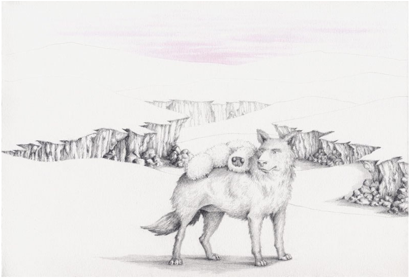 The Wolf and the Caterpillar Survey the Land