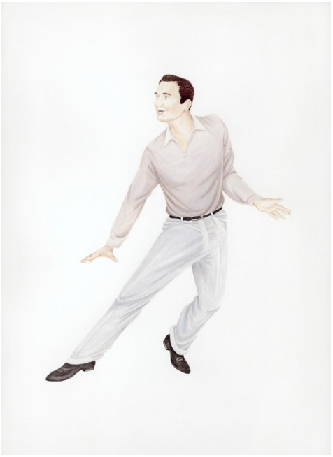 Self-Portrait as Gene Kelly