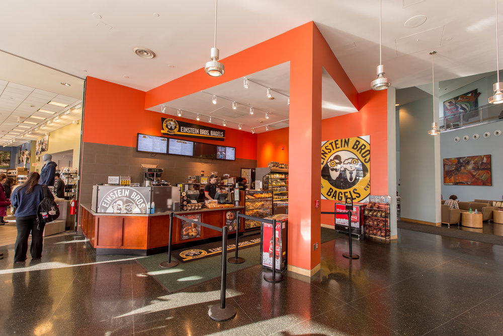 Einstein Bros. Bagels  Brandeis University