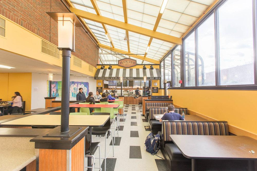USDAN Dining Hall  Brandeis University