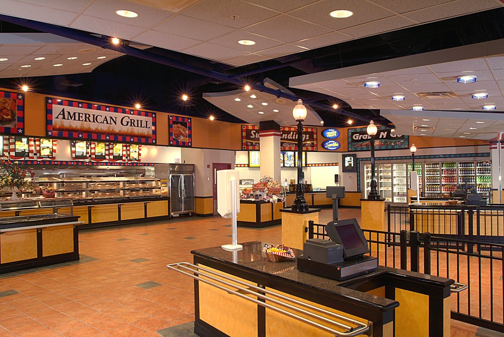 International Terminal Food Court  Orlando, FL