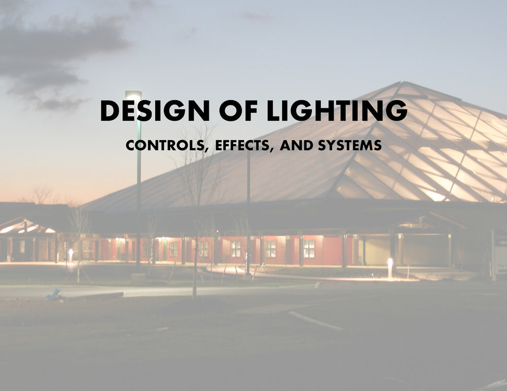Design of Lighting Controls