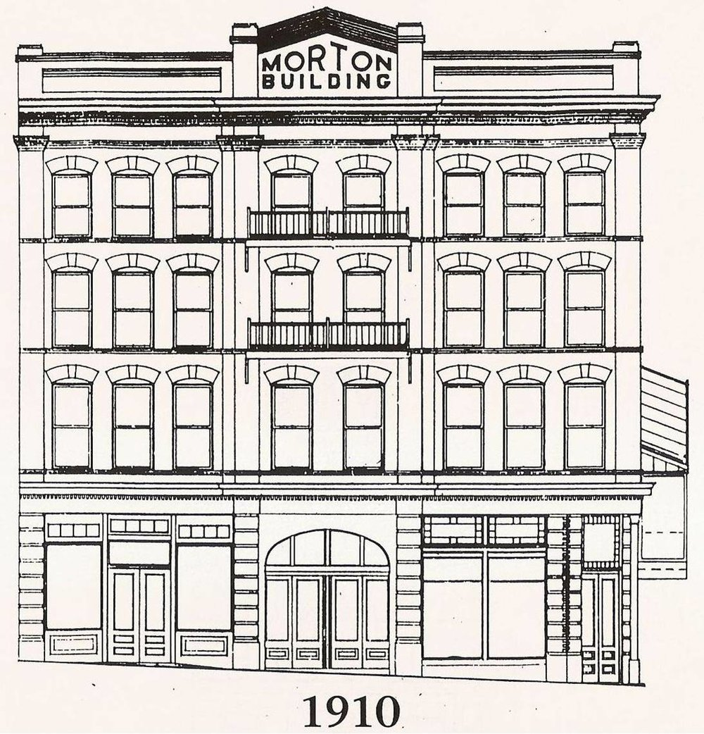 An Original Drawing of the Facade