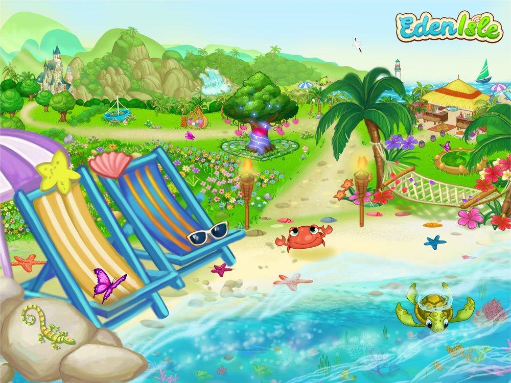 Eden Isle Promotional Image