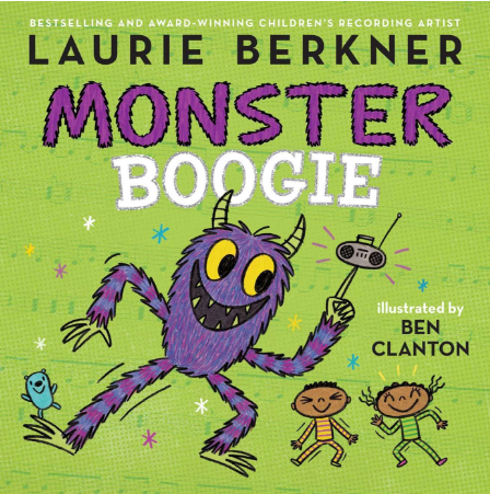 Monster Boogie by Laurie Berkner