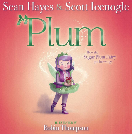 Plum How the sugar plum fairy got her wings