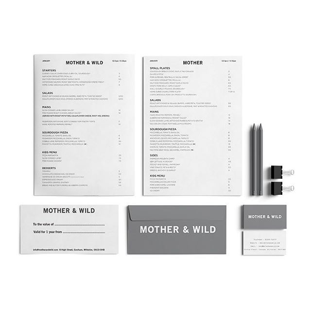 Full brand identity designed for Mother & Wild in Corsham @motherandwild  #گرافیک_دیزاین #گرافیک_روزانه #interface #mobile #graphicroozane #design #illustration #گرافیک #vector #webdesign #graphicdesign #concept #vectorart #typography #inspiration #عکاسی #instaart #creative #designers #digitalart #behance #photography #icon #designer #web #logo #art #jquery #html #html5