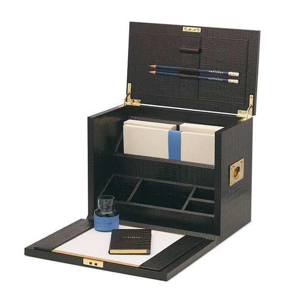 You might find yourself lusting after something like this to store all of your fancy new stationary.