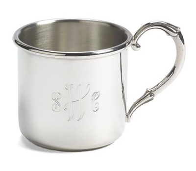 Salisbury Pewter 'Easton' Personalized Sterling Silver Cup, $59