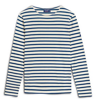 Breton Stripe Shirt, $75