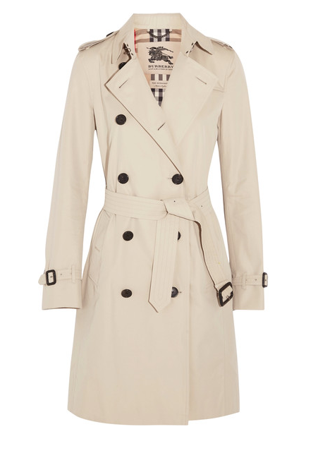 Burberry Kensington Trench, $1995