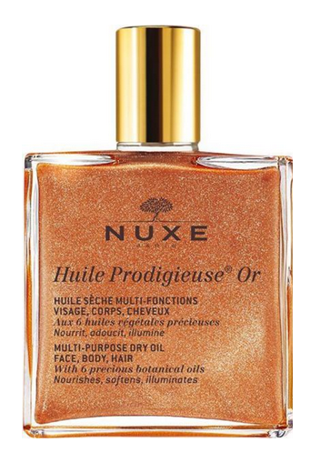 Nuxe Huile Prodigieuse® Multi Use Dry Oil with Golden Shimmer, $23.