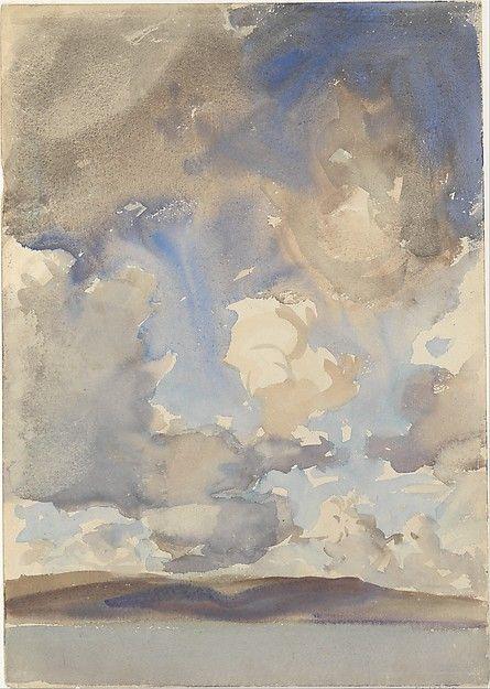 Clouds - John Singer Sargent