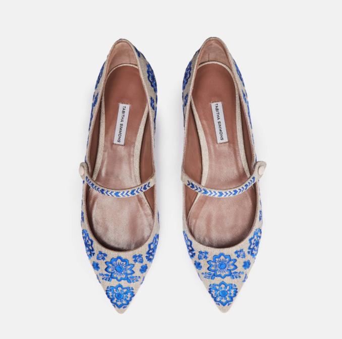 Tabitha Simmons Flats, $465