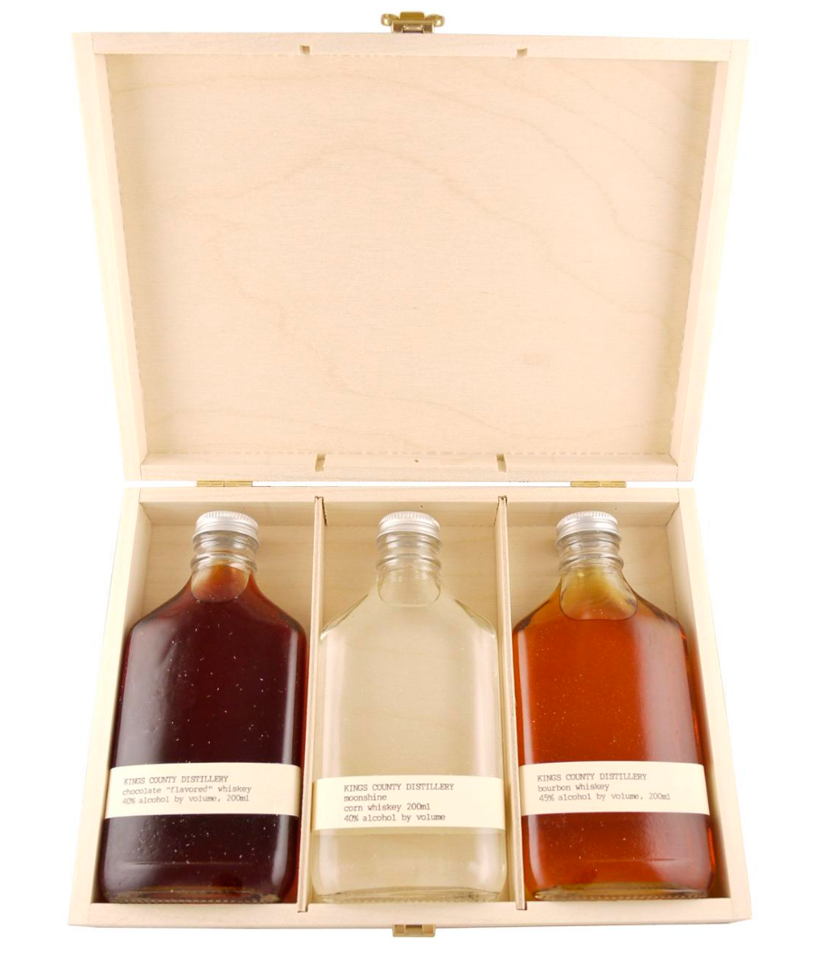 Kings County Whiskey Set, $75