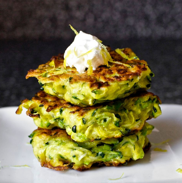 SmittenKitchen  the popular blog for home cooks created and maintained by Deb Perelman is coined the great place to find your new favorite thing to cook and these zucchini fritters do look pretty tasty.