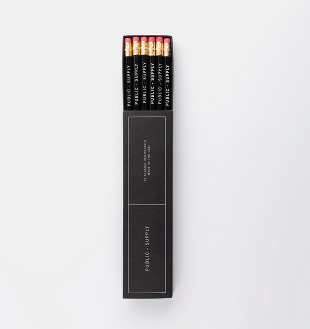 Hex Pencil 12-pack, $12.