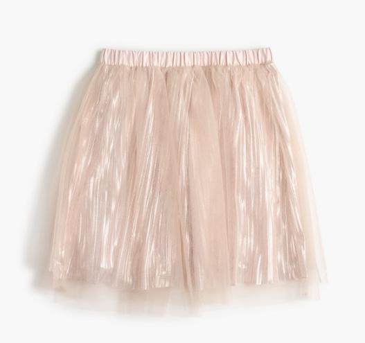 J.Crew, Shimmer skirt $49.50