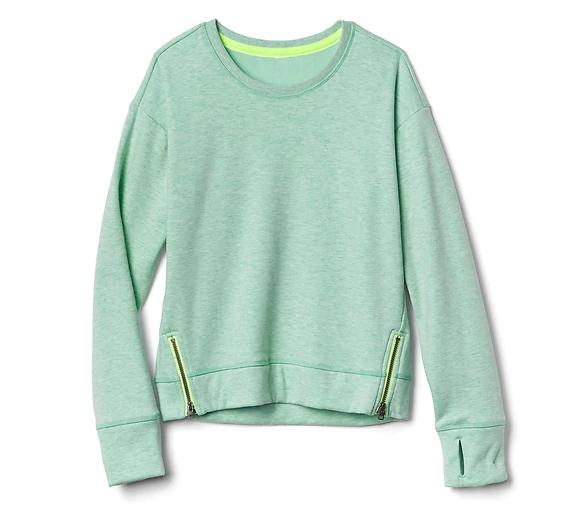 Athleta Sweatshirt, $50.