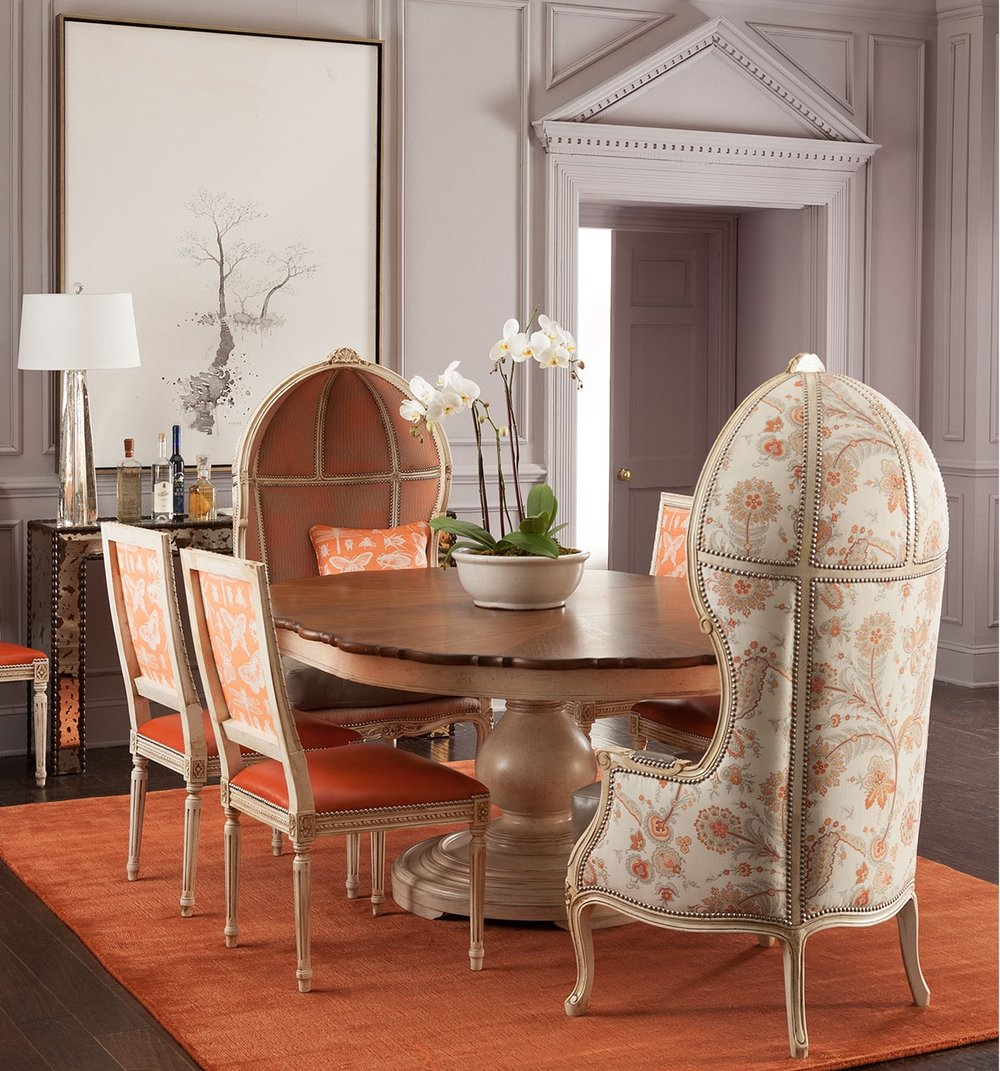 Massoud Butterfly Dining Chair available at Neiman Marcus