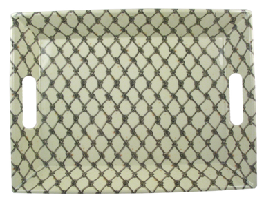 Memlamine Fish Net Tray, $58.