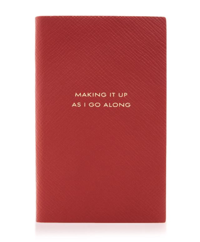 Smythson Notebook, $75