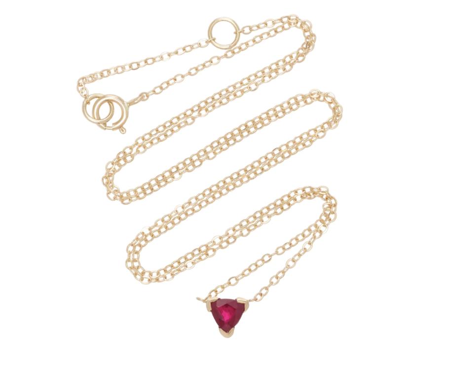 Shahla Karimi Ruby Necklace, $575