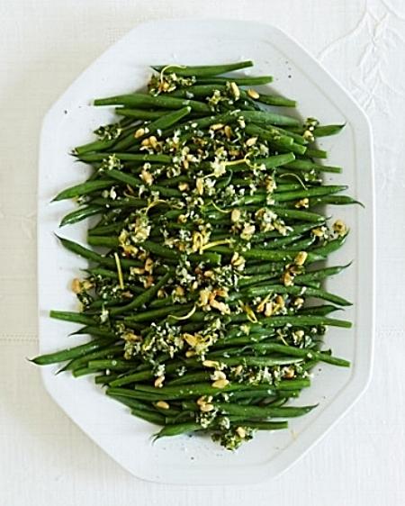 Green Beans Gremolata via Good Housekeeping by Ina Garten