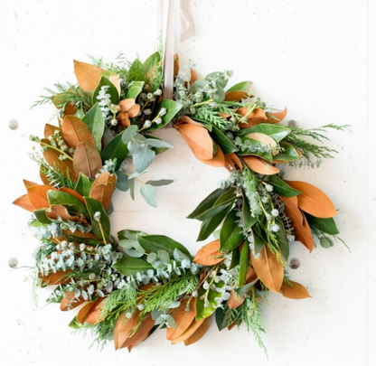 Woodland Wreath, $68.
