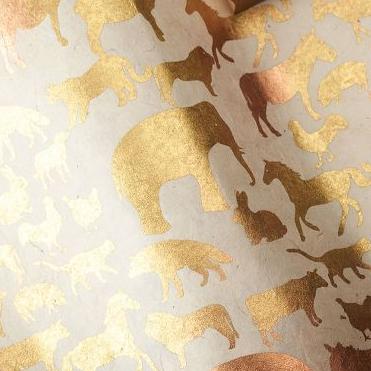 Golden Animals, $4.95/sheet.