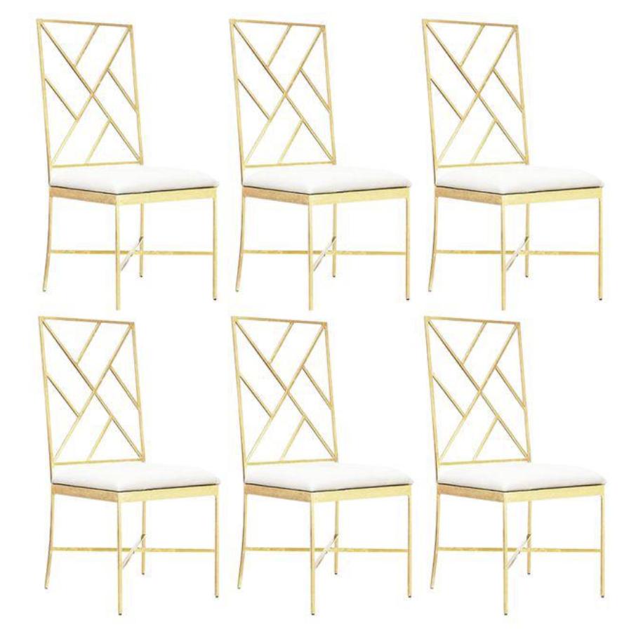 Worlds Away Chair Set, $3000