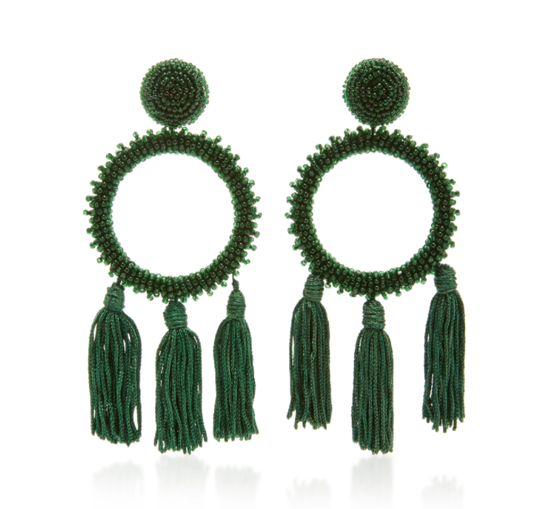 Oscar de la Renta Earrings, $490