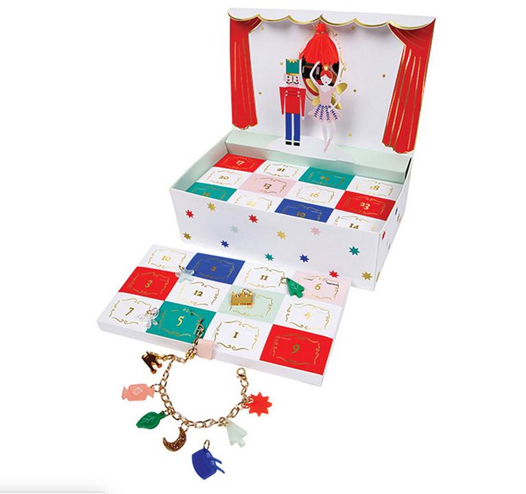 Charm Bracelet Advent Calendar, $30.