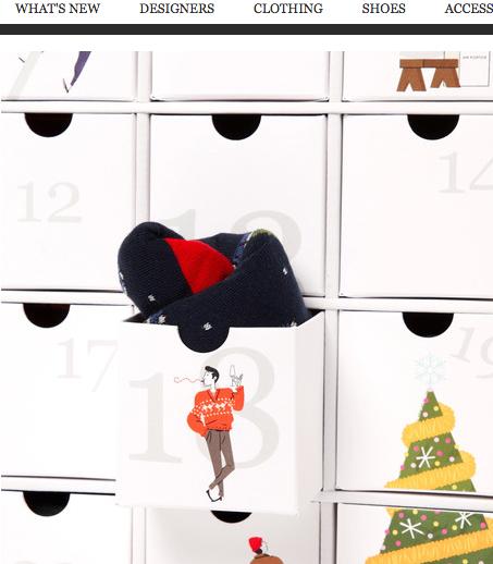 Corgi Sock Calendar, $495.