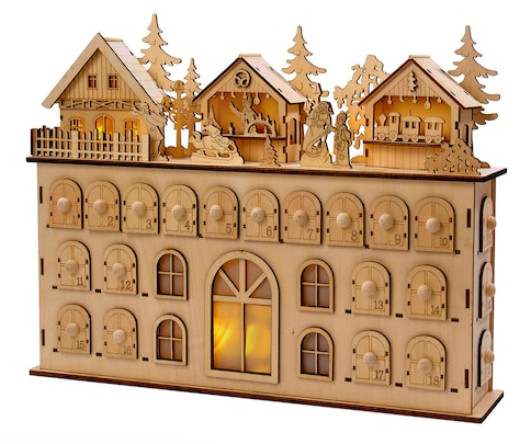 Wooden Manor, $105.
