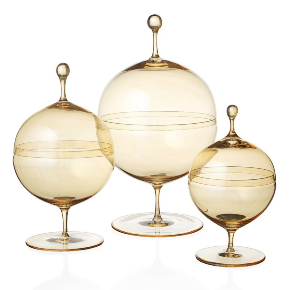 Lobmeyer Candy Dishes, $259-$345