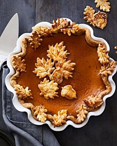 Pumpkin Pie via Williams Sonoma