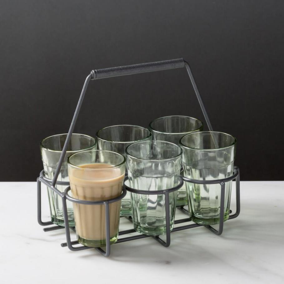 Chai Tea Carrier Set, $35