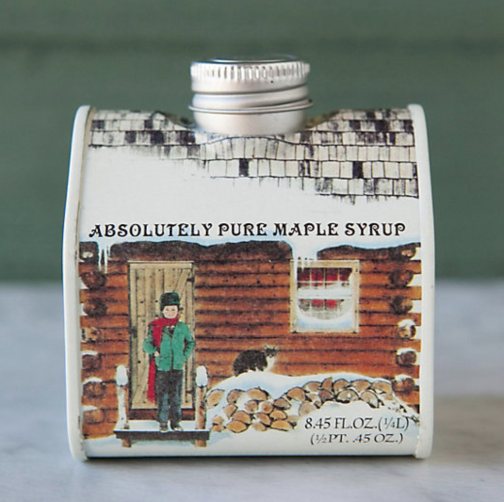Vermont Maple Syrup, $14