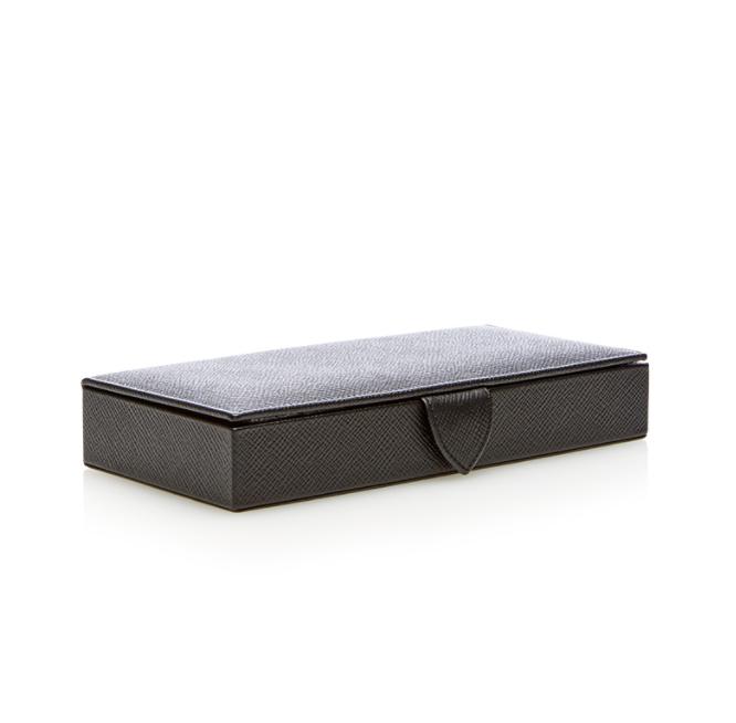Smythson Cufflink Box, $435
