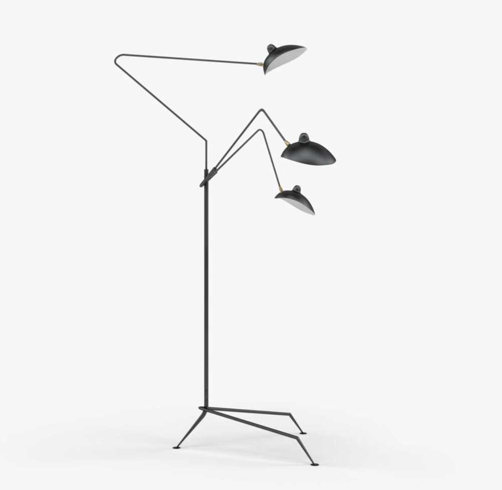 Mouille 3 Floor Lamp, $589
