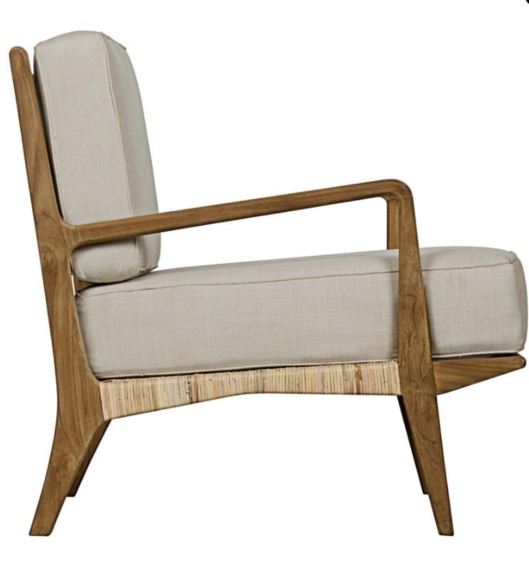 Allister Teak Chair, $1191