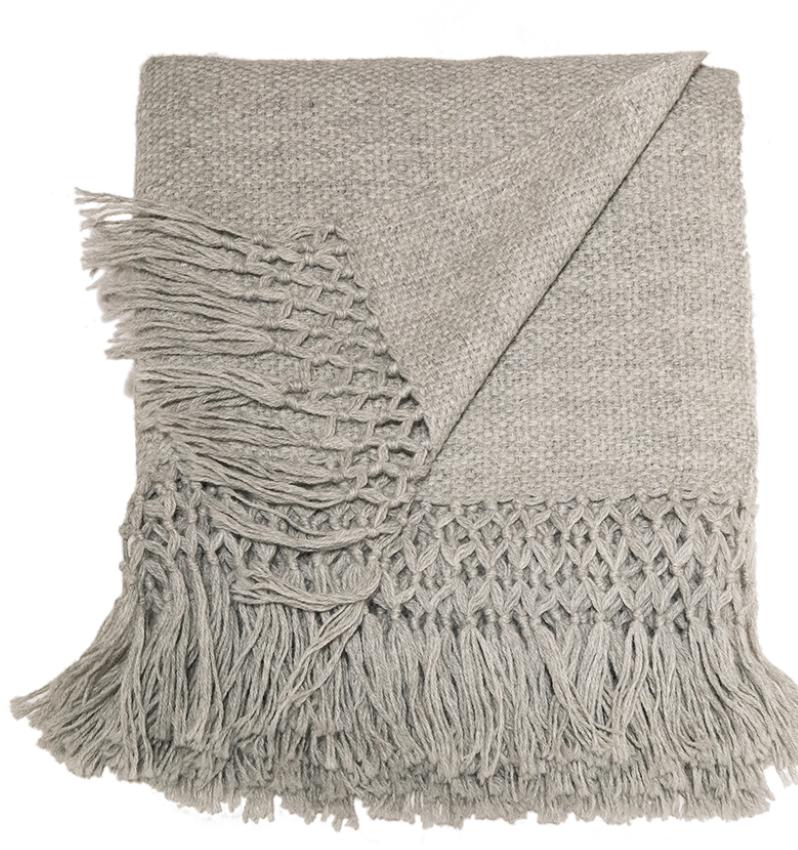 Alta Alpaca Throw, $298