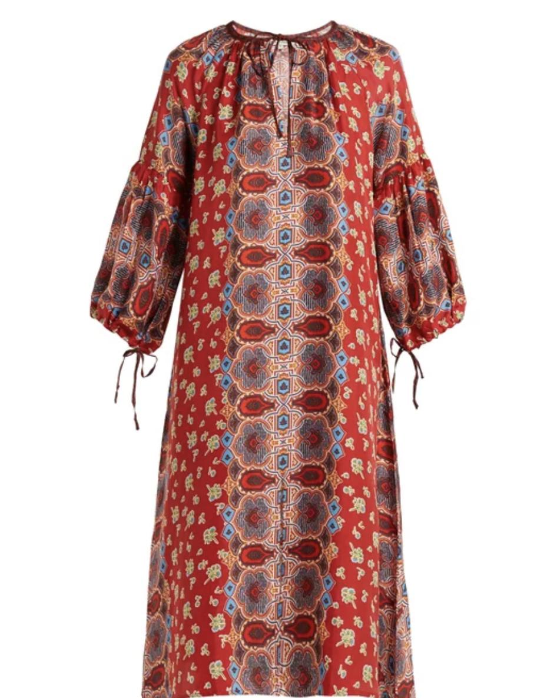 Misha Silk Dress, $578