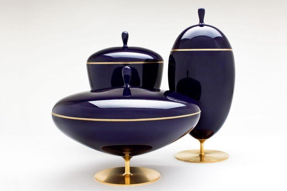 M. de Lucchi & Sevres Cups, $ Upon Request