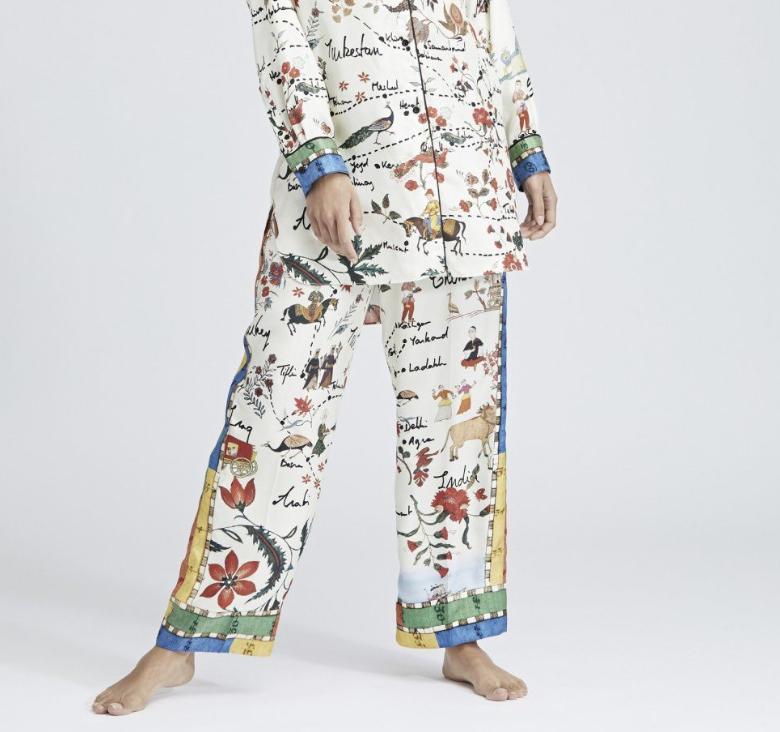 Silk Road Pants, $1190