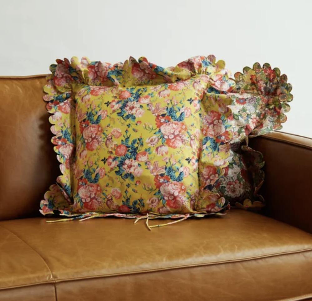 Horror Vacui Pillow, $185